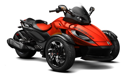 Can Am Spyder RS Parts and Accessories