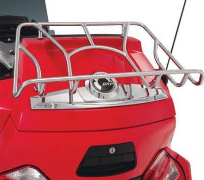 Can Am Spyder RT Luggage Rack Show Chrome 41-155